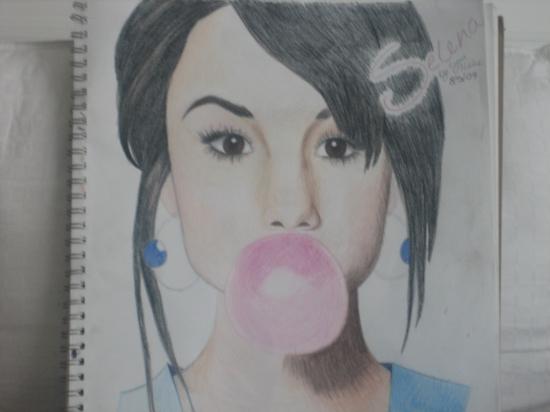 Selena Gomez por CelebPortraits07